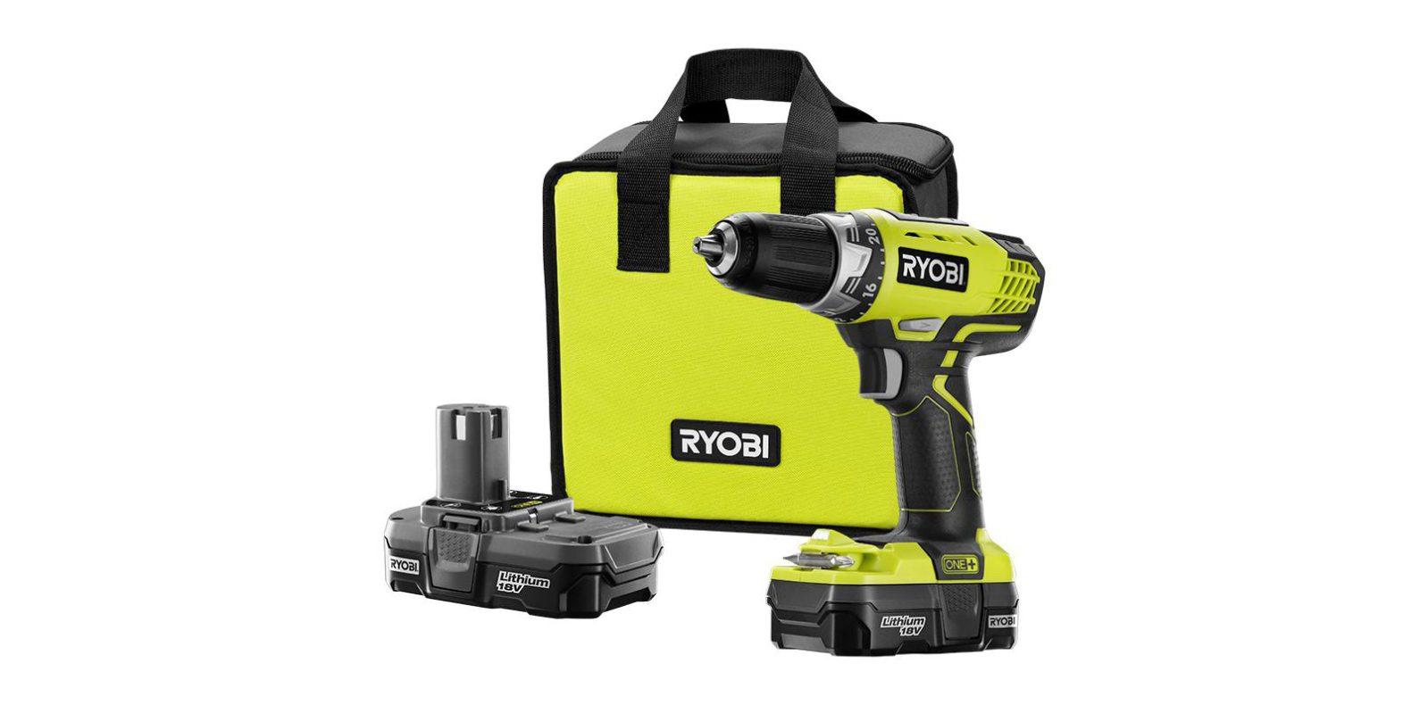 Bring home Ryobi's $69 compact drill kit at $30 off