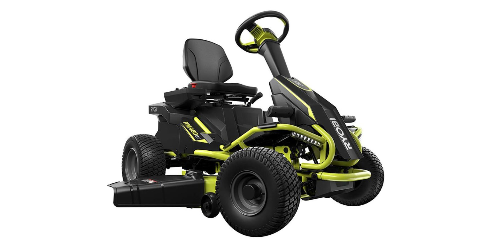 Ryobi's 38-inch Electric Riding Lawn Mower with bagger now $2,600 ($400 off)