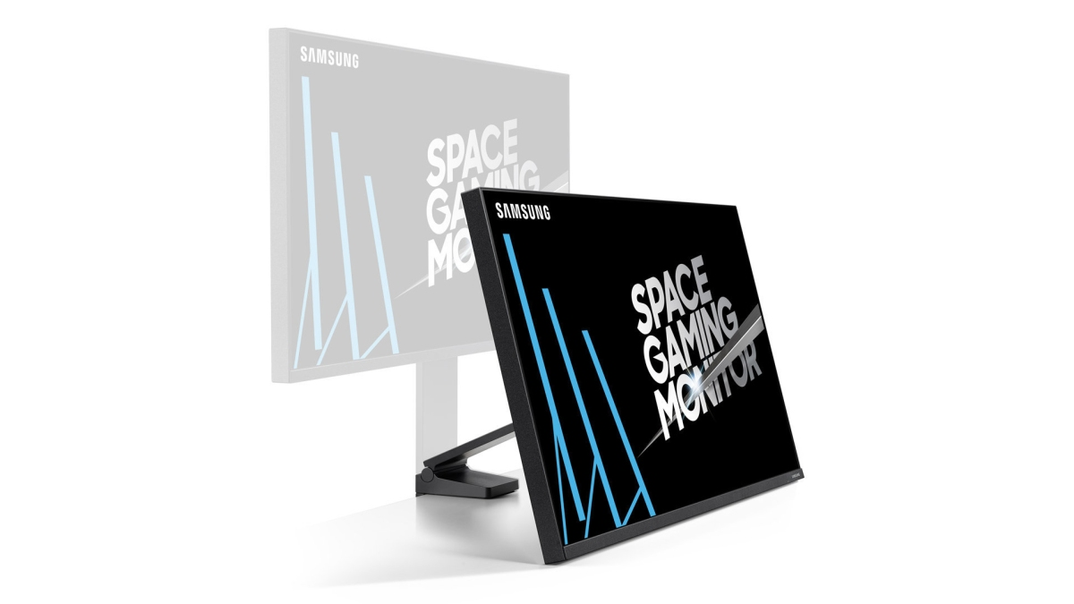 Space Gaming Monitor