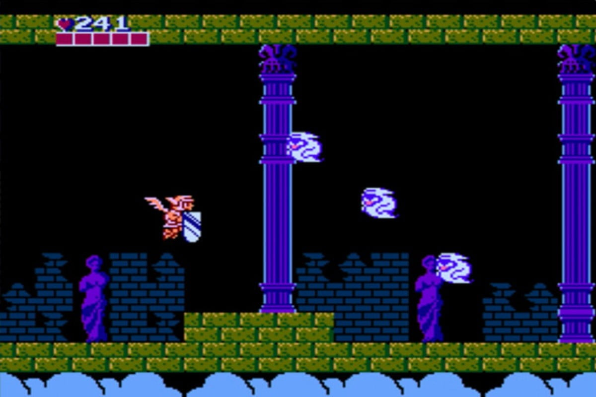 Rare sealed Kid Icarus - gameplay screenshot