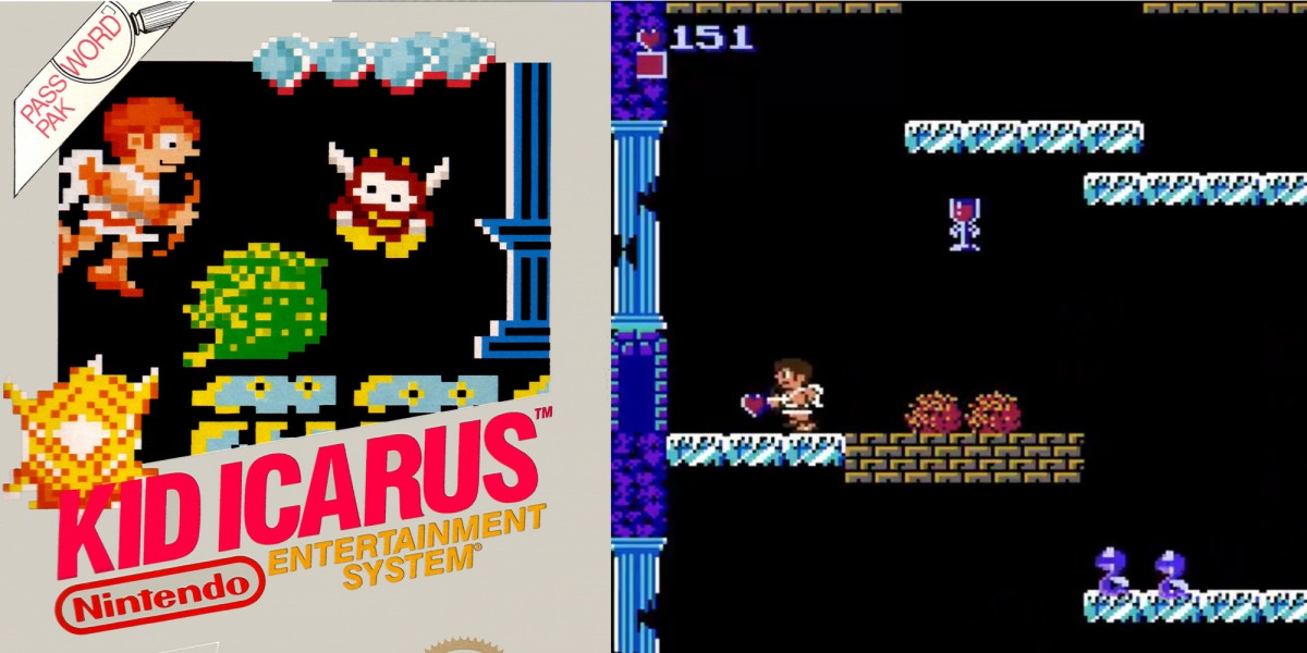 Sealed Kid Icarus for NES