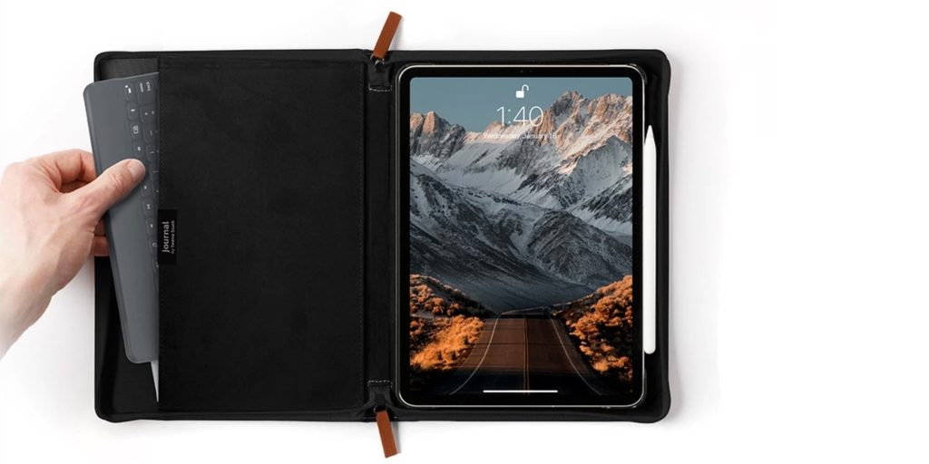 Twelve South Journal for iPad Pro arrives as a new leather-bound case