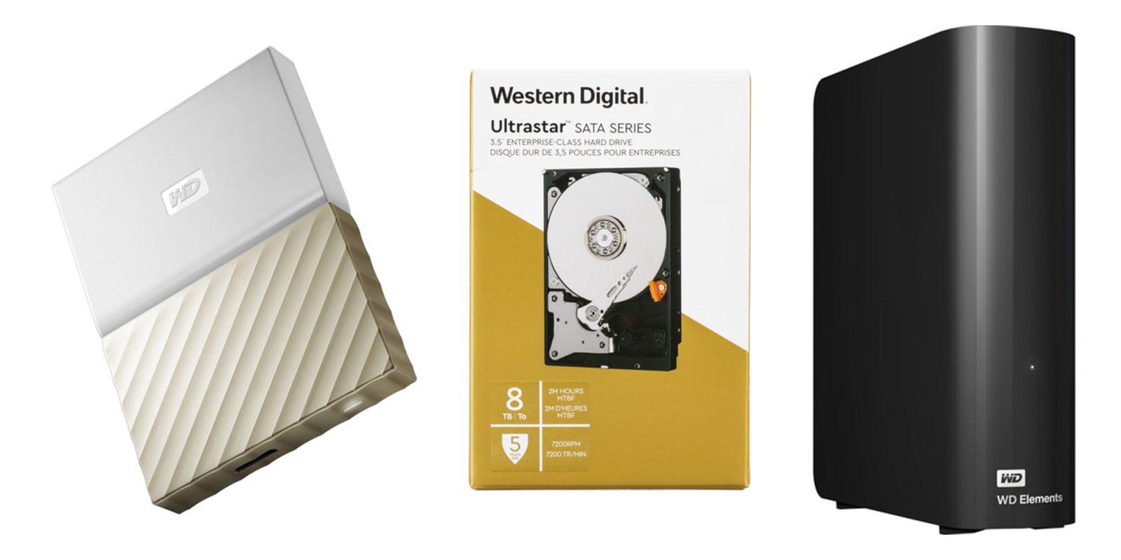 Western Digital 1-day storage sale starts at $45: Portable, desktop HDDs, more