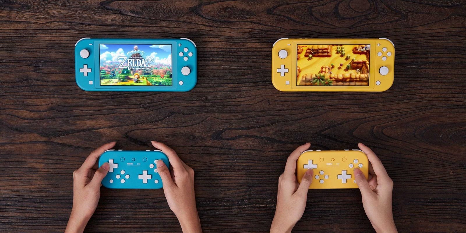 8Bitdo debuts latest Bluetooth gamepad for Switch Lite, pre-order now