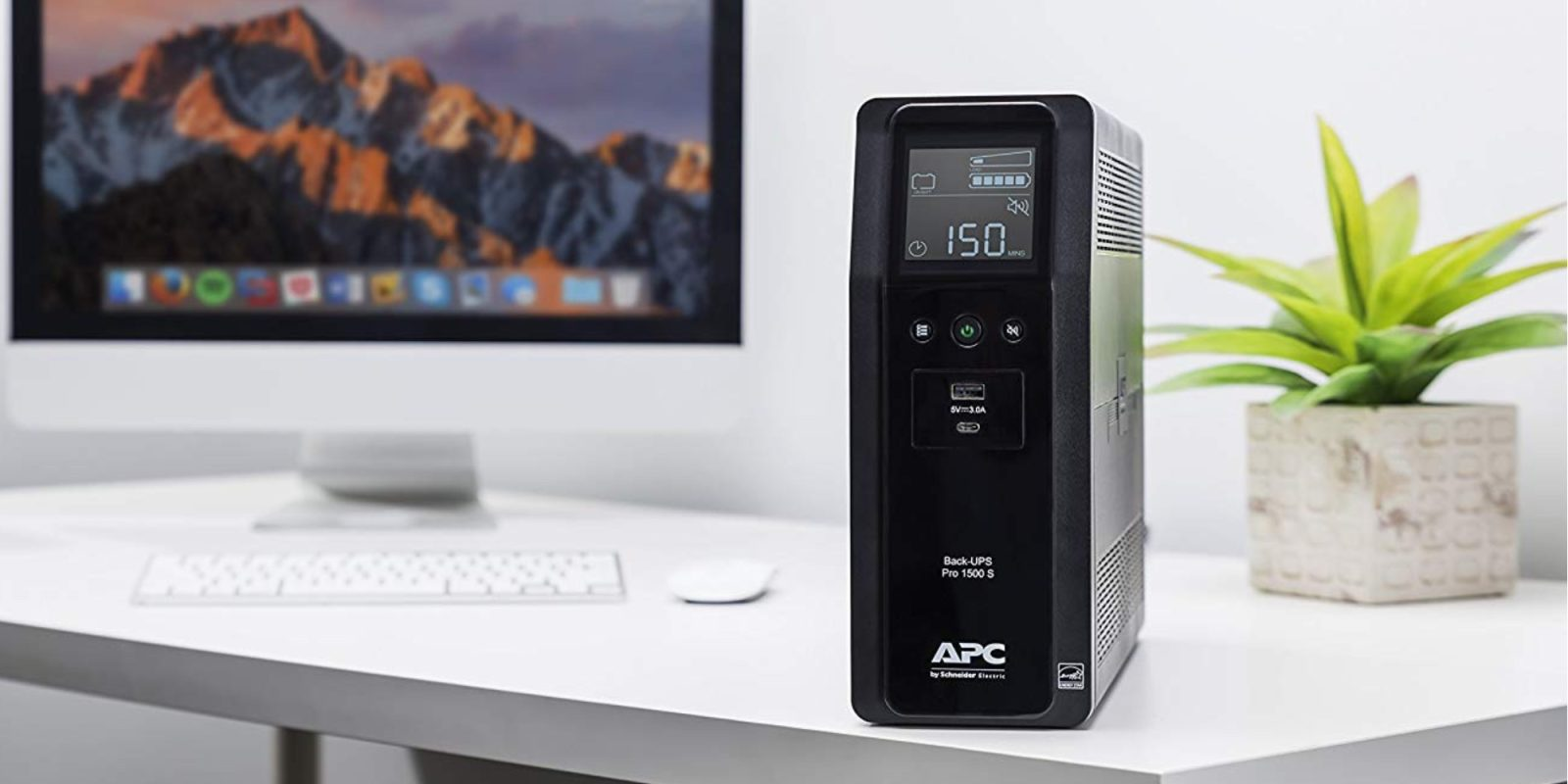APC's 1500VA Ten-Outlet Pro UPS has a USB-C port, more at $166.50 ($38 off)