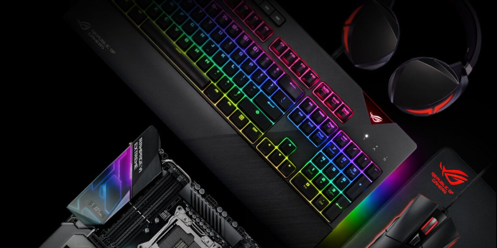 RGB awaits in ASUS' ROG Strix Flare Mechanical Keyboard: $120 (Reg. $160+)