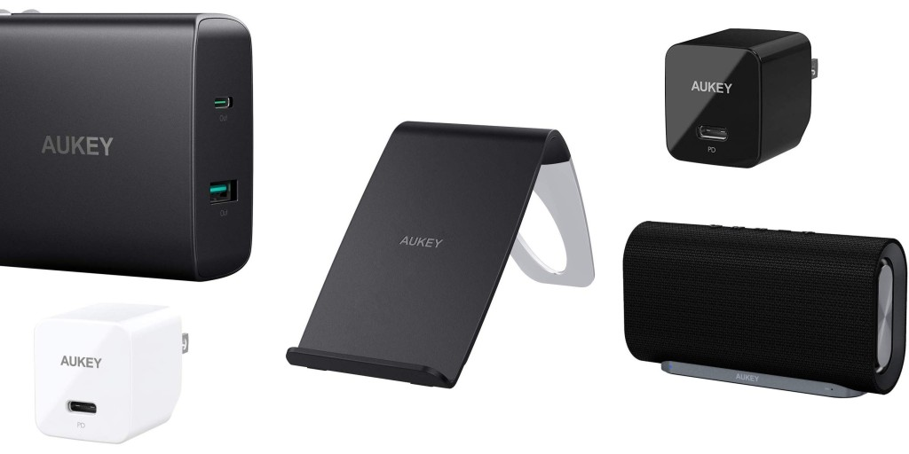Amazon 1-day AUKEY sale from $12: USB-C/Qi chargers