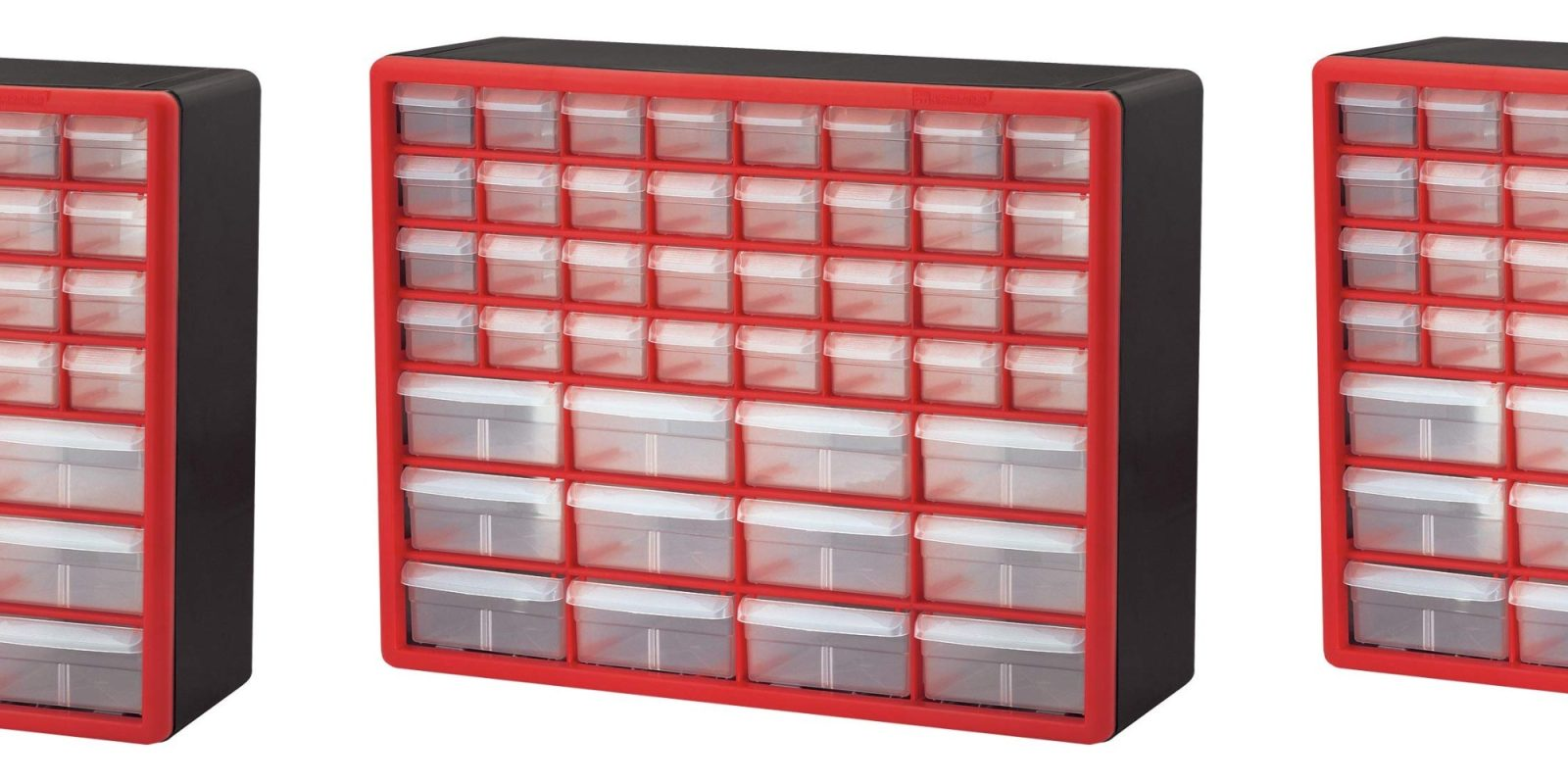 This 44-drawer storage system is ideal for LEGO builders or DIYers at 30% off