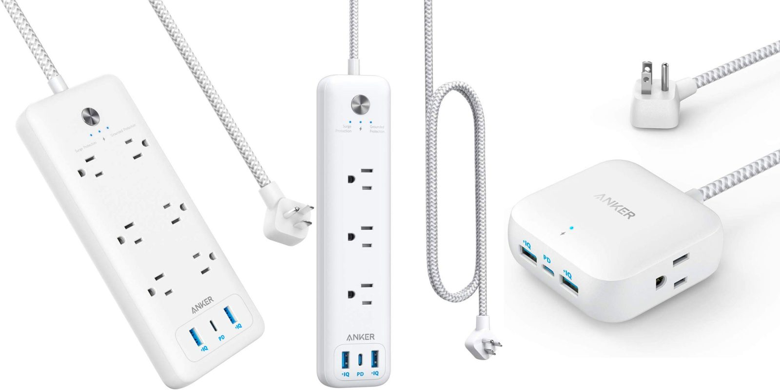 Anker's latest release packs USB-C PD into a power strip for traveling ease