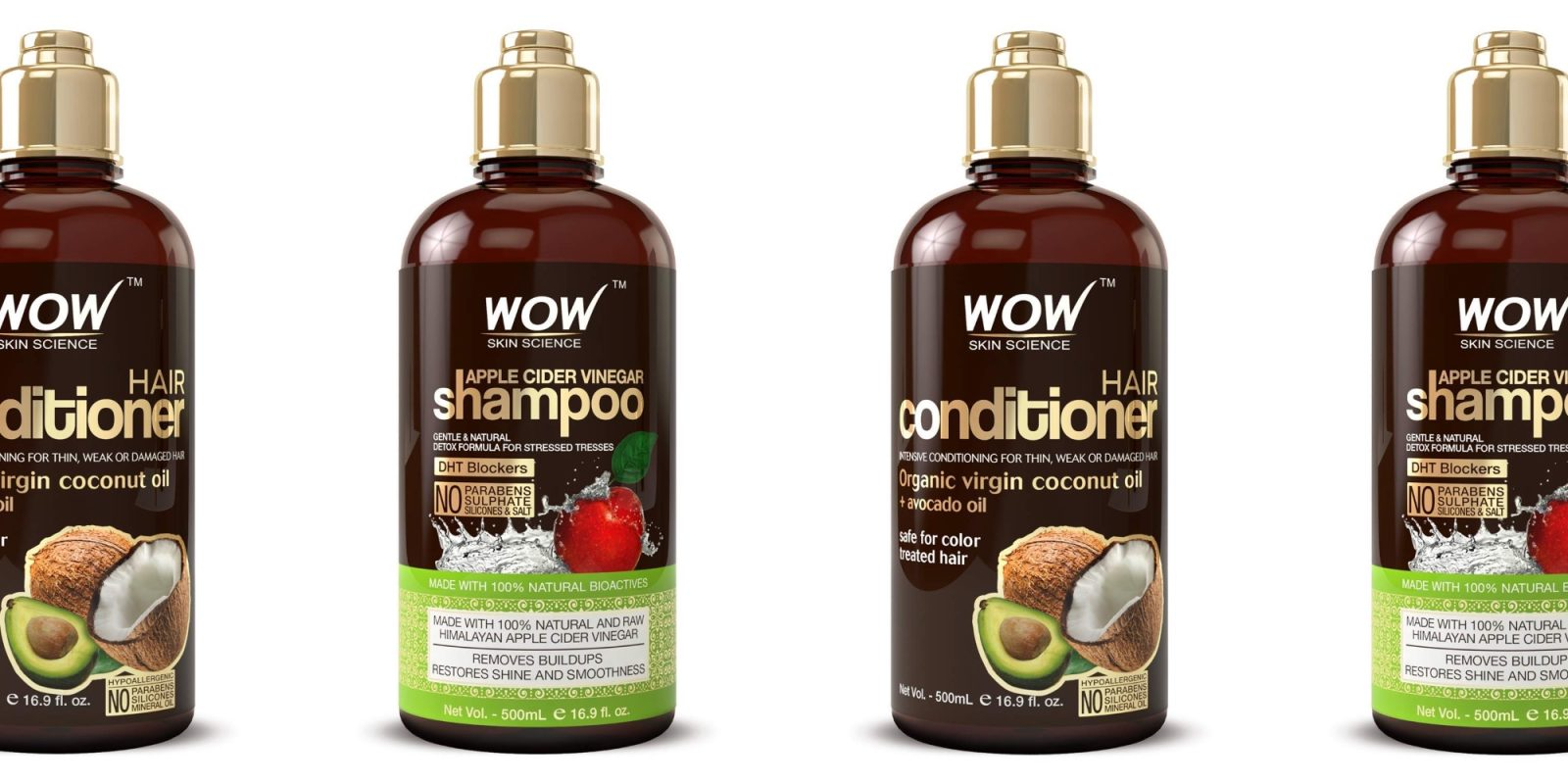 Save 33% on this highly-rated Apple Cider Vinegar Shampoo Set, now at $20
