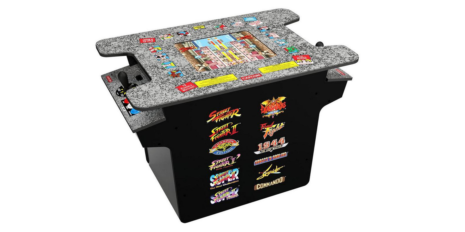 New Street Fighter cocktail cabinet now up for pre-order