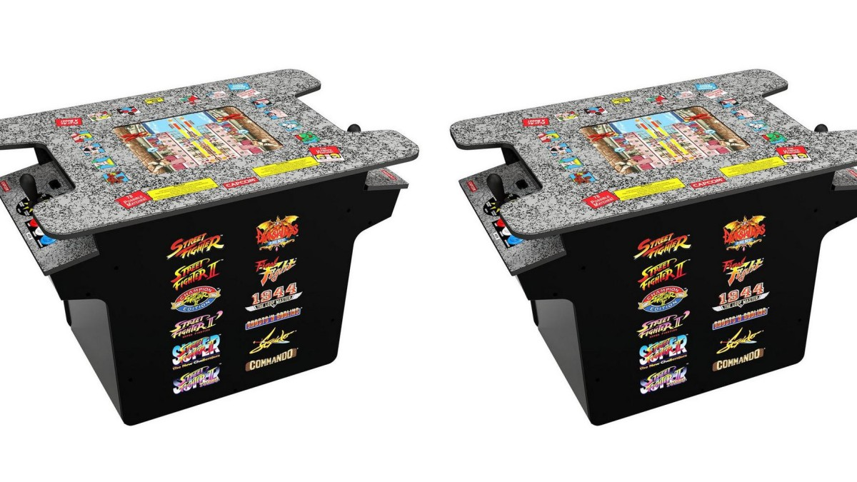 Arcade1Up Street Fighter cocktail cabinet up for pre-order