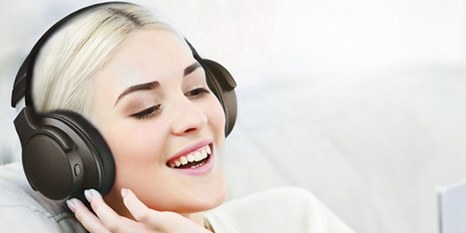 Enjoy wireless sound with these noise cancelling headphones, now $60