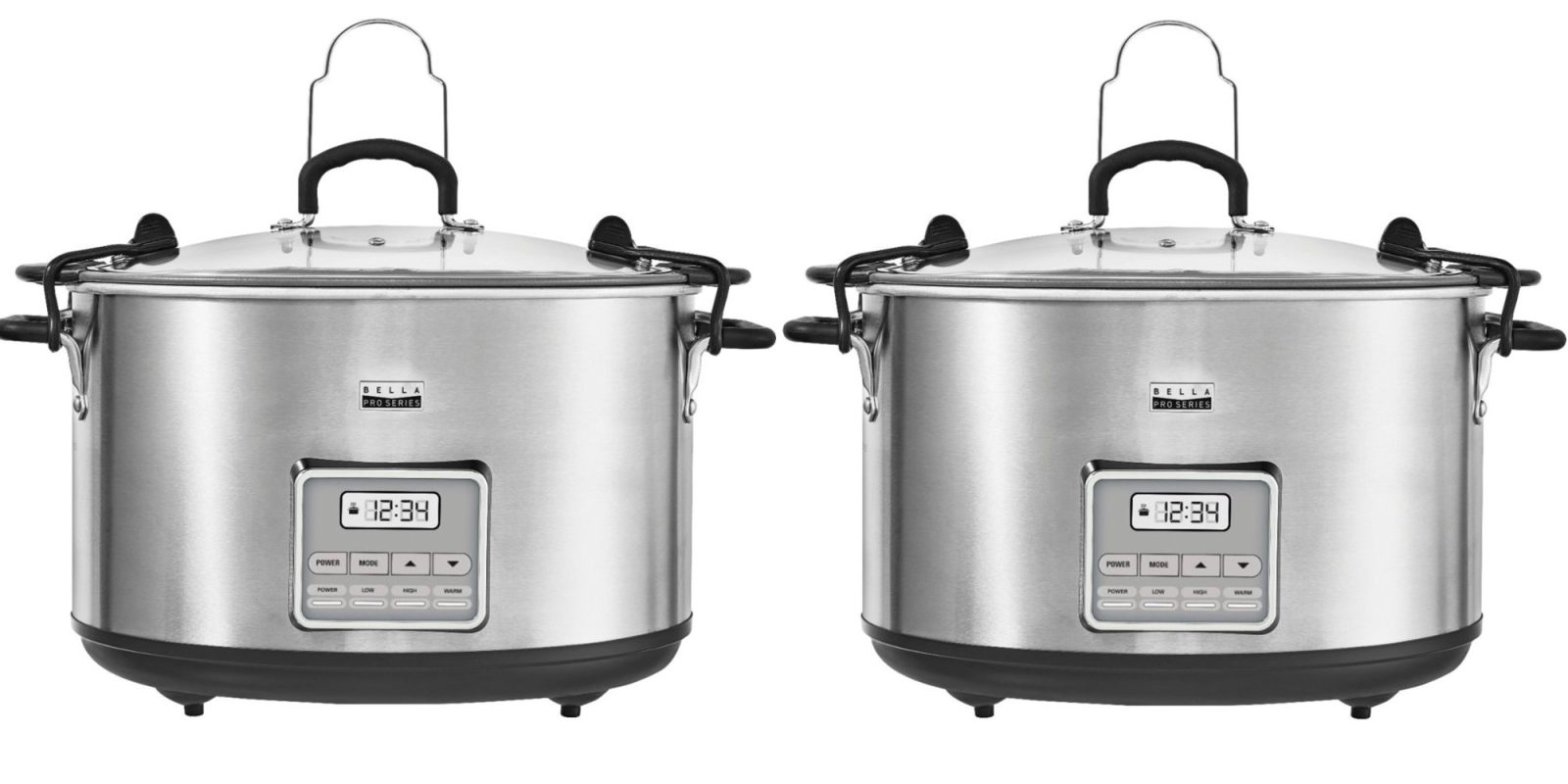 Feed the entire neighborhood with a 10-quart Bella Slow Cooker: $30 ($50 off)