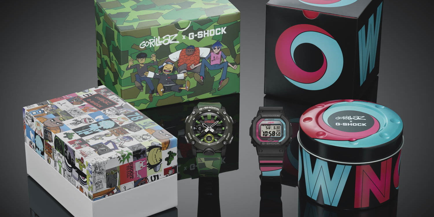 Casio x Gorillaz limited edition Bluetooth G-Shock releases tomorrow, more