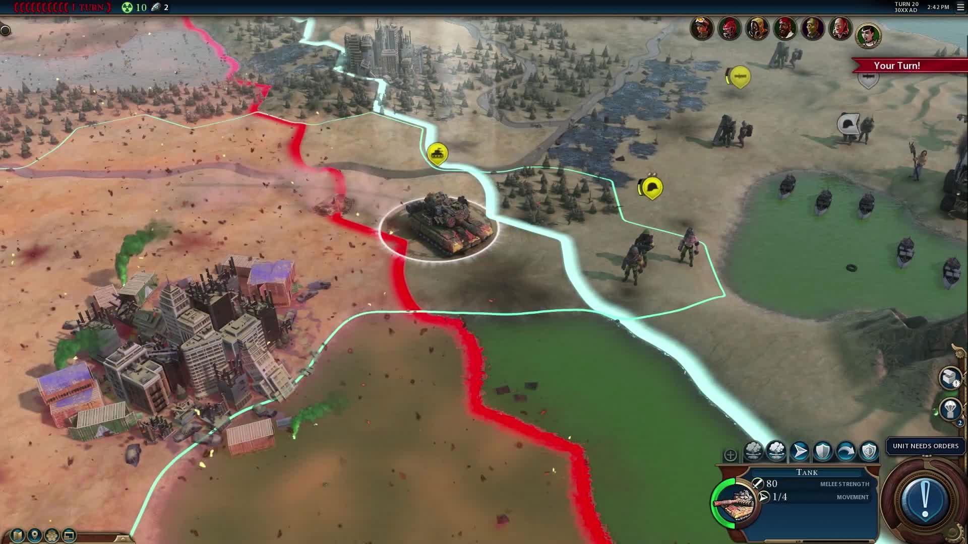 Civilization VI Red Death Battle Royale