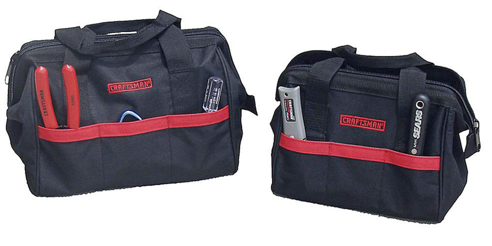 Add two Craftsman tool bags to your DIY setup from $5 with in-store pickup