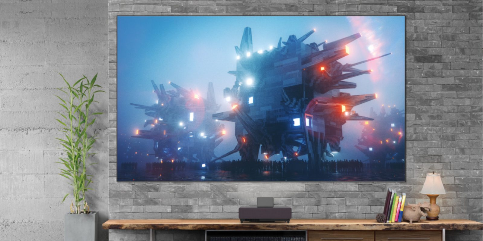 Epson's new 120-inch laser TV works in 'virtually any lighting environment'