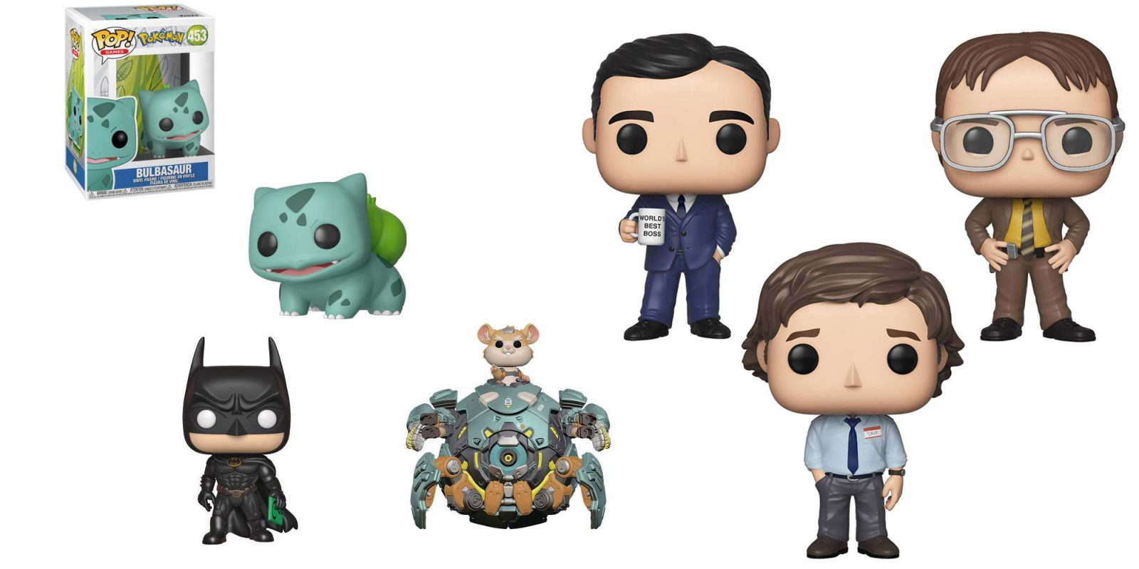 Grab 3 Funko POP! figures for $20: The Office, Marvel, Pokémon, many more