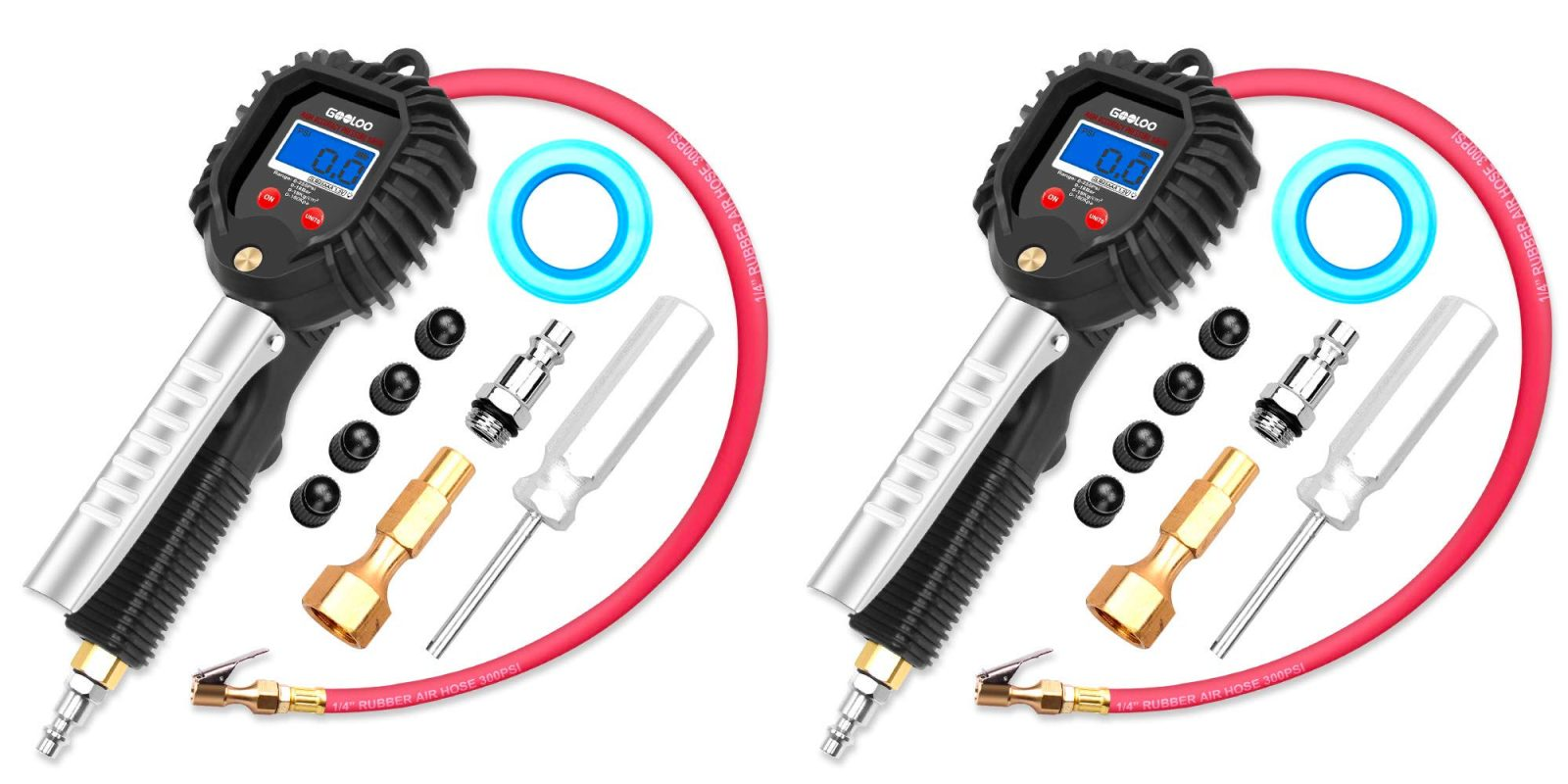 This digital tire pressure gauge also inflates for $15 Prime shipped (50% off)