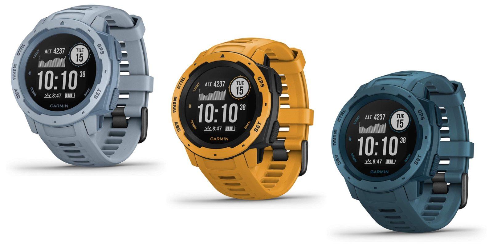 Garmin's Instinct GPS Smartwatch hits new Amazon low from $238 (Reg. $300)