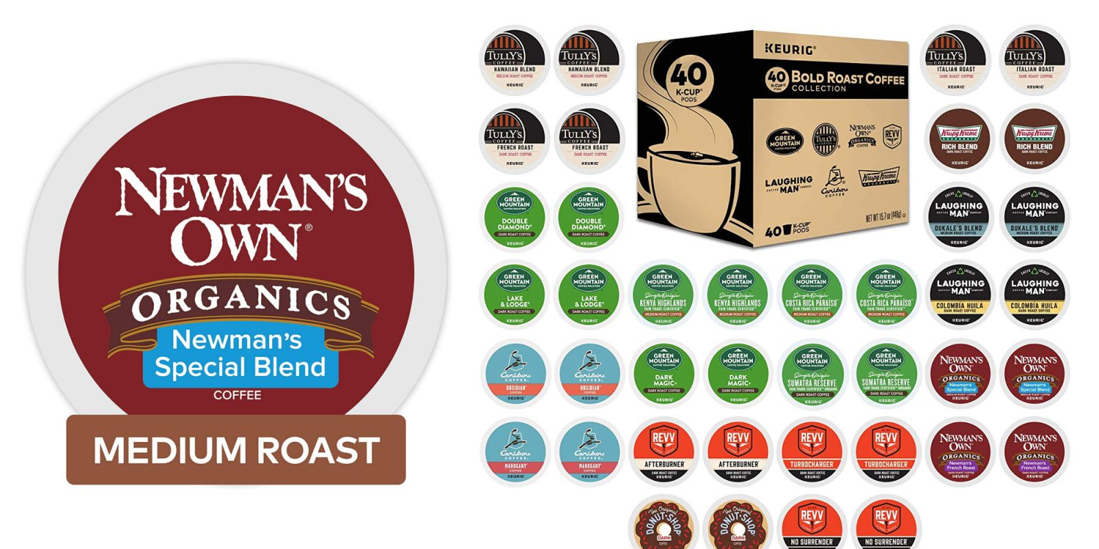 K-Cups from $10.50 in today's Gold Box: Newman's, Green Mountain, more