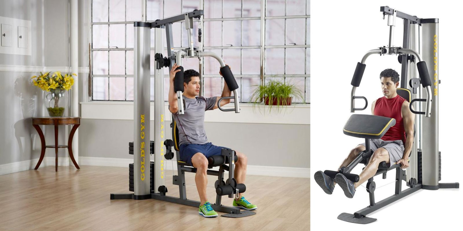 Stay fit with the Gold's Gym Strength Training System at $277 (Reg. $345)