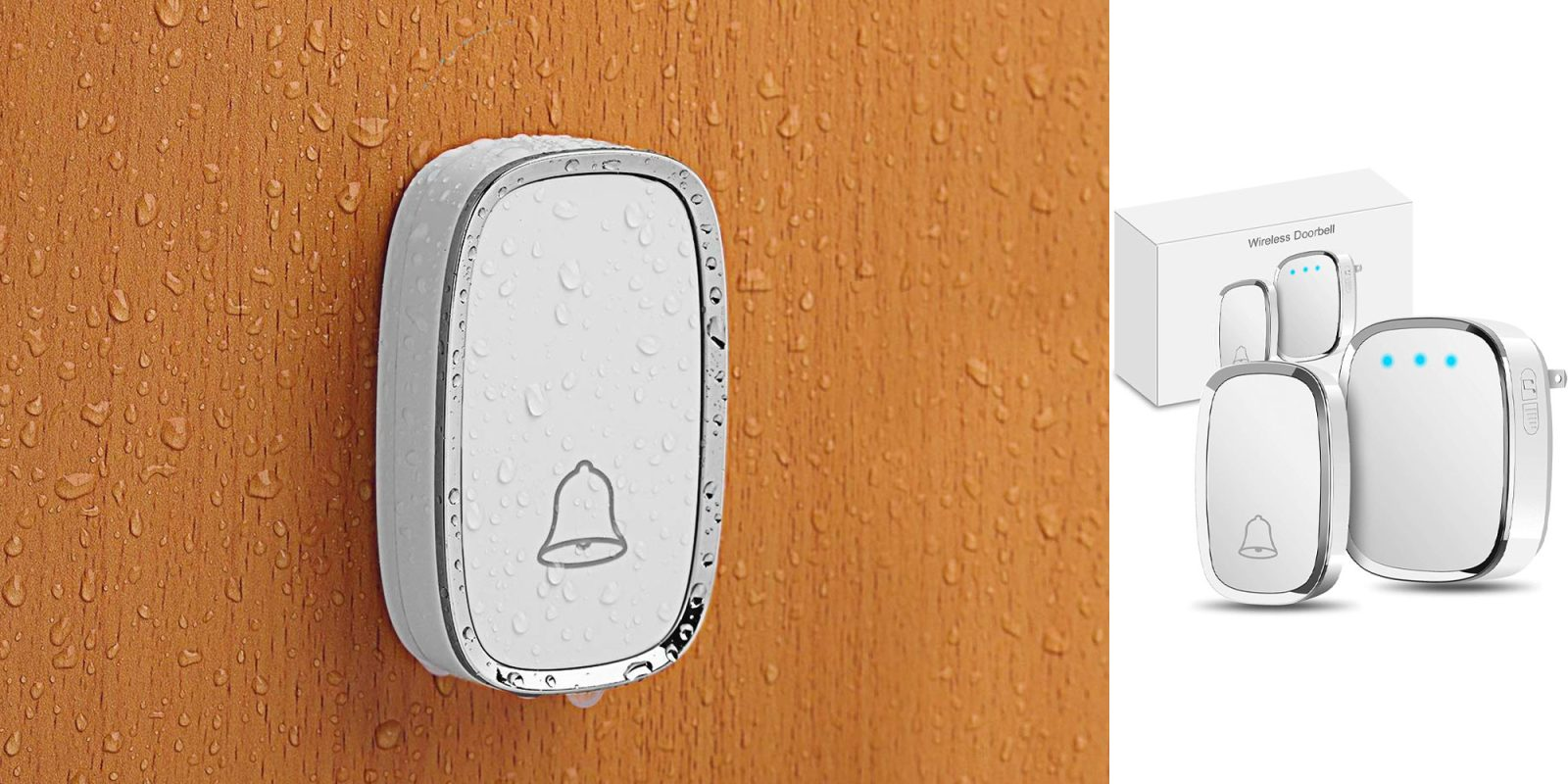 Govee's highly-rated wireless doorbell has a 1,000 foot range for just $8