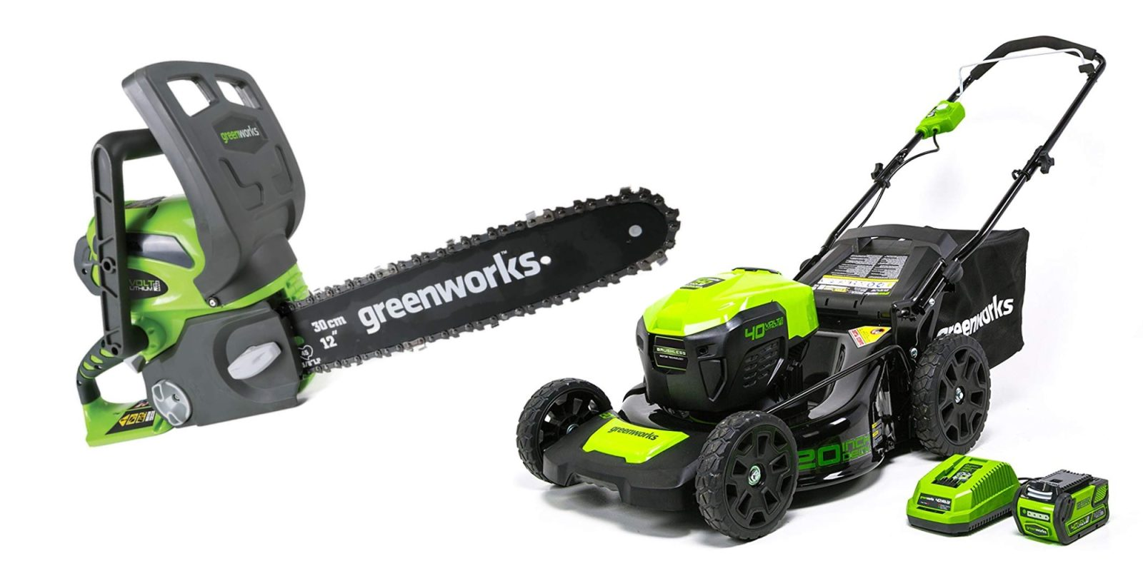 Today's Gold Box is packed with GreenWorks mowers, chainsaws, more from $22.50