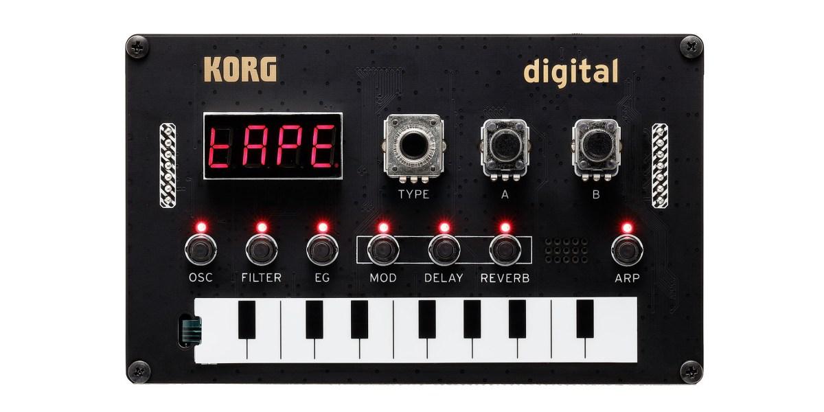 Korg's new DIY synth