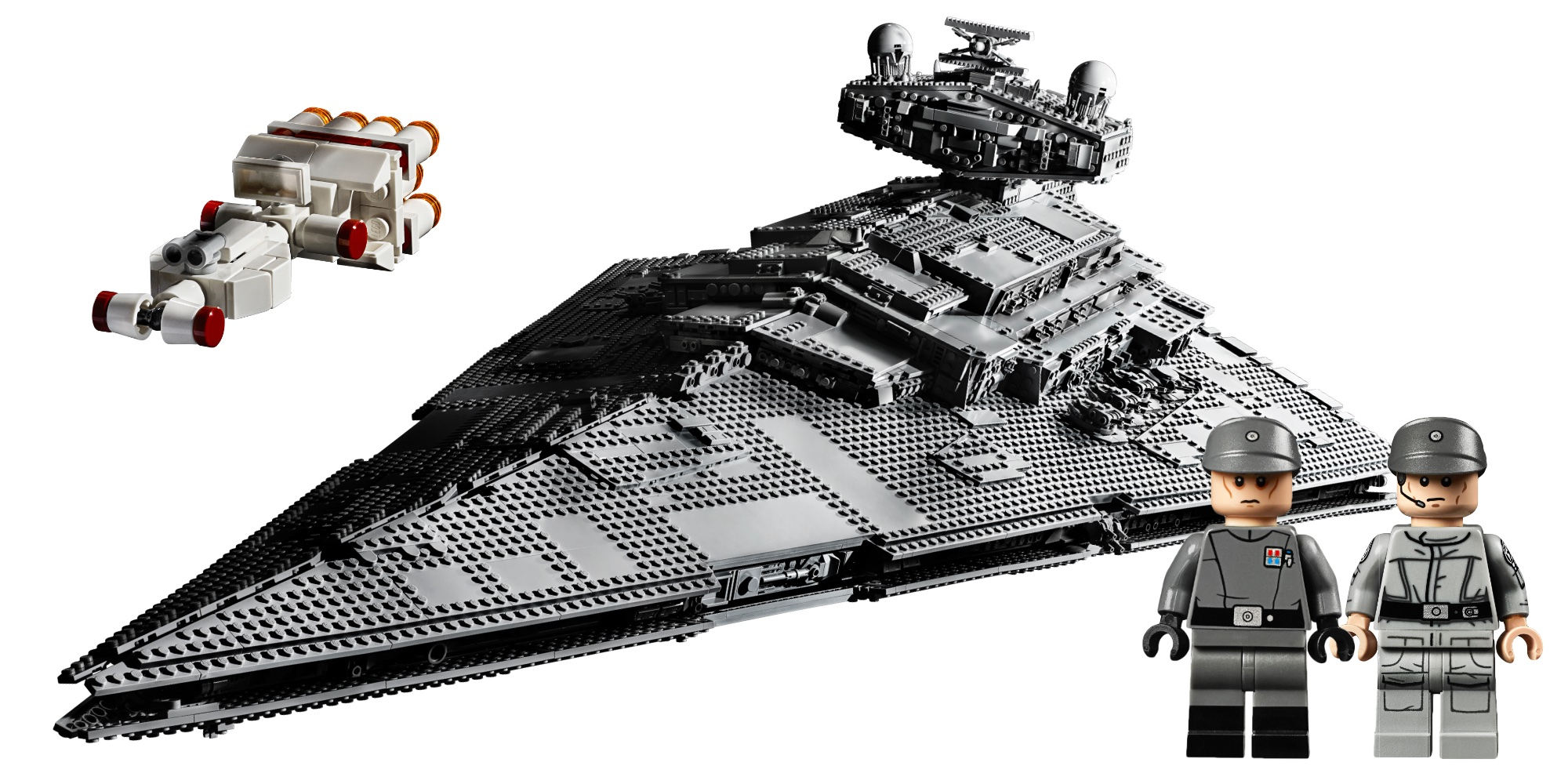 LEGO Imperial Star Destroyer packs over 4,700 pieces, more