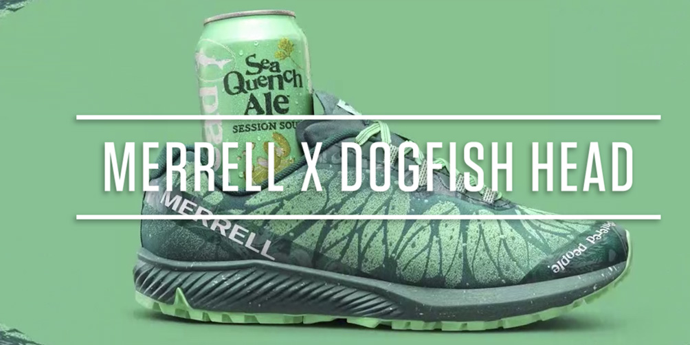 Merrell x Dogfish Head Brewing Company launches a new trail running shoe