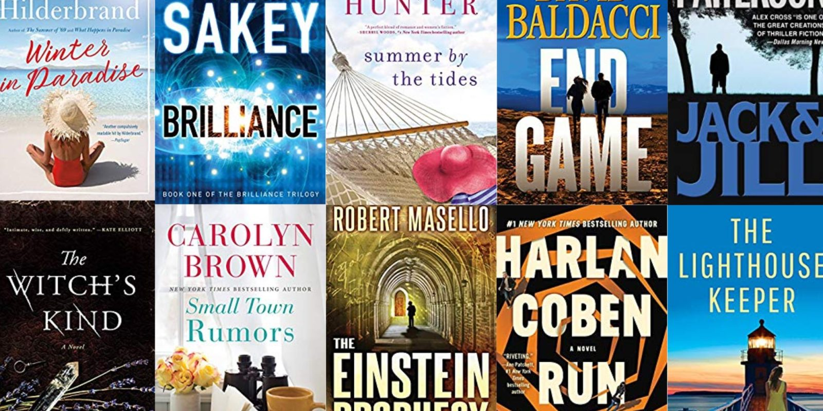 Today only, bring home Amazon's most wished for Kindle eBooks from $1, more