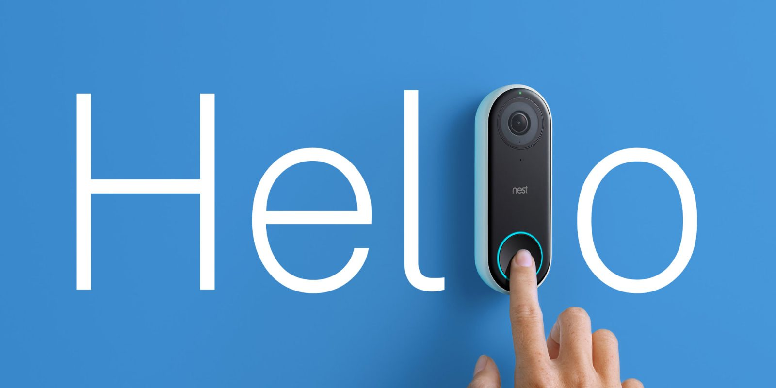 Sophisticate your door with Nest's Hello Video Doorbell: $164 (All-time low)