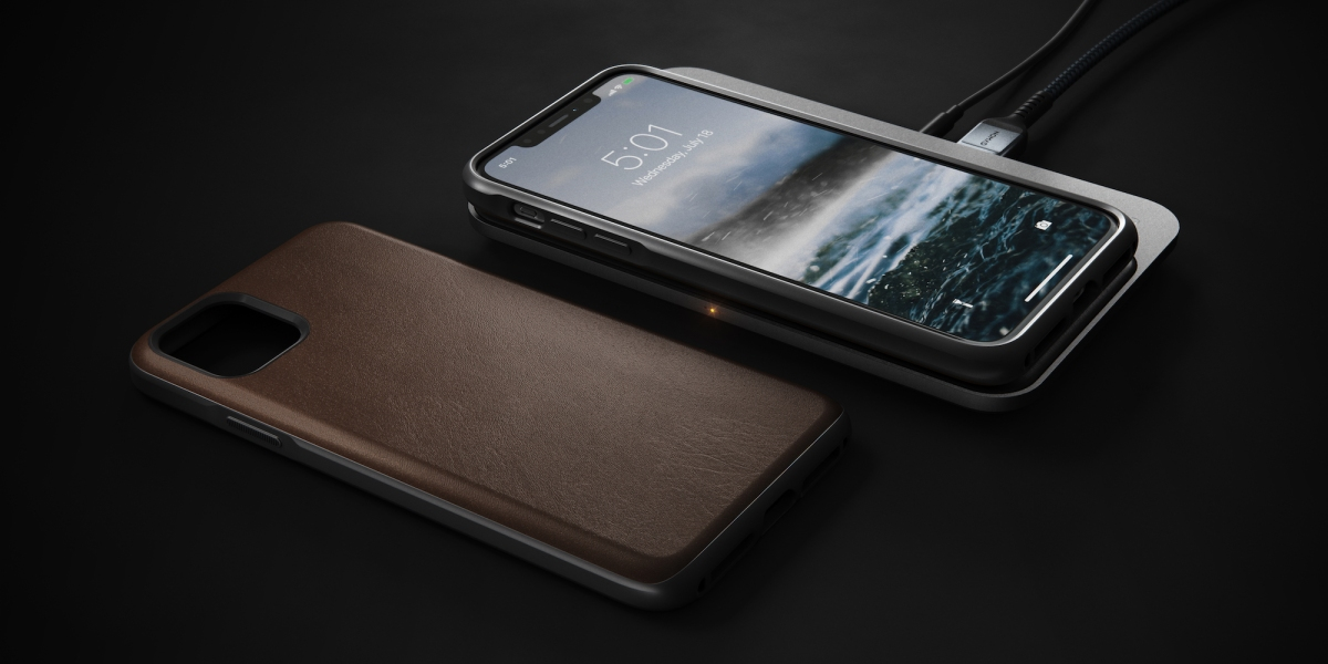 Nomad leather iPhone 11 cases