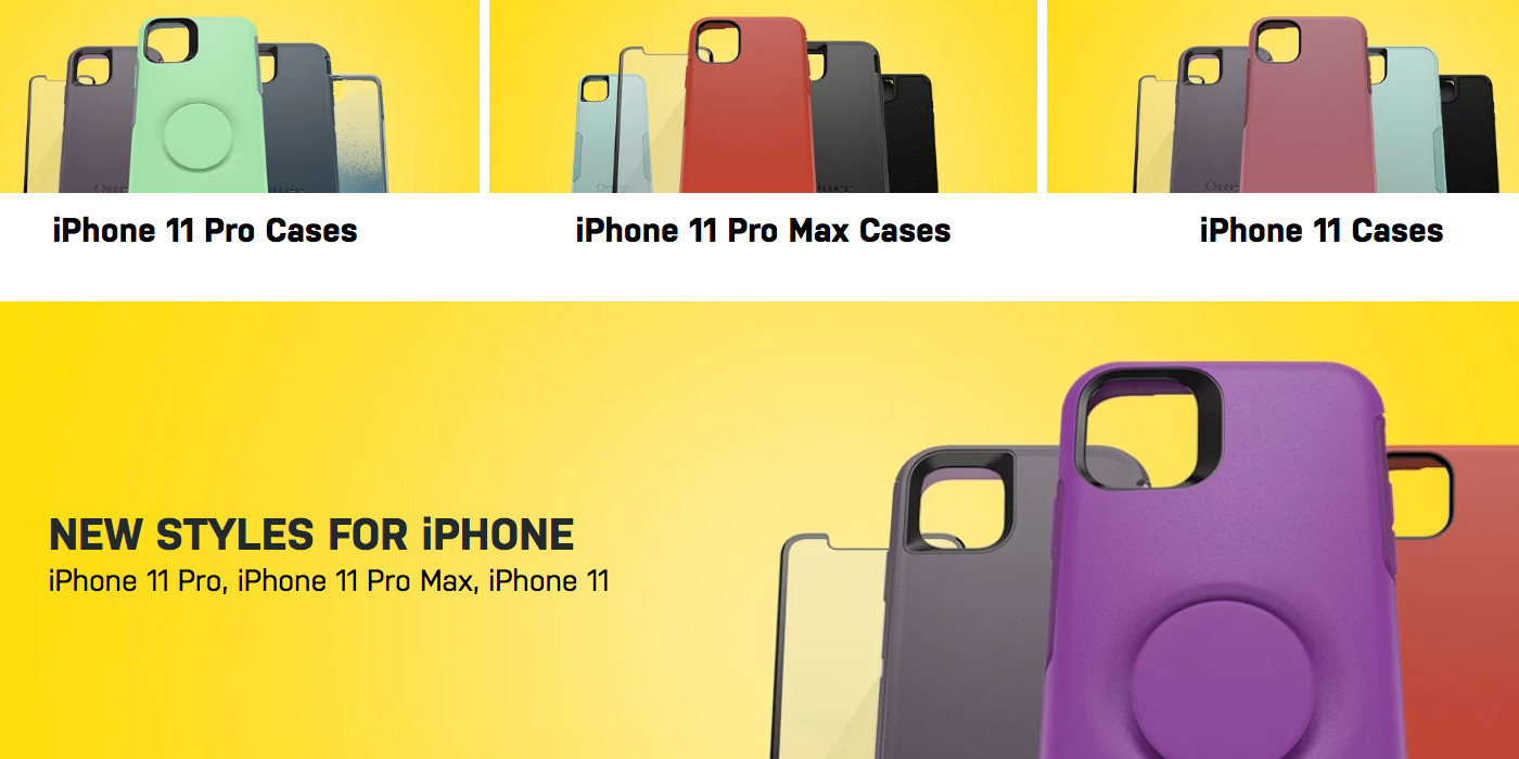 OtterBox iPhone 11 cases and accessories are now live - 9to5Toys