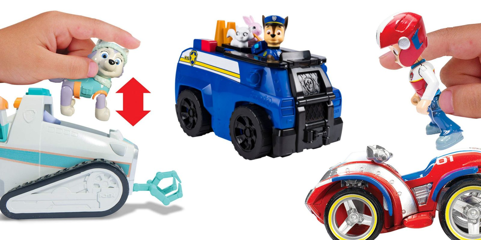 PAW Patrol kids' toy sets from $5: Everest's Rescue, ATV, VTech Driver, more