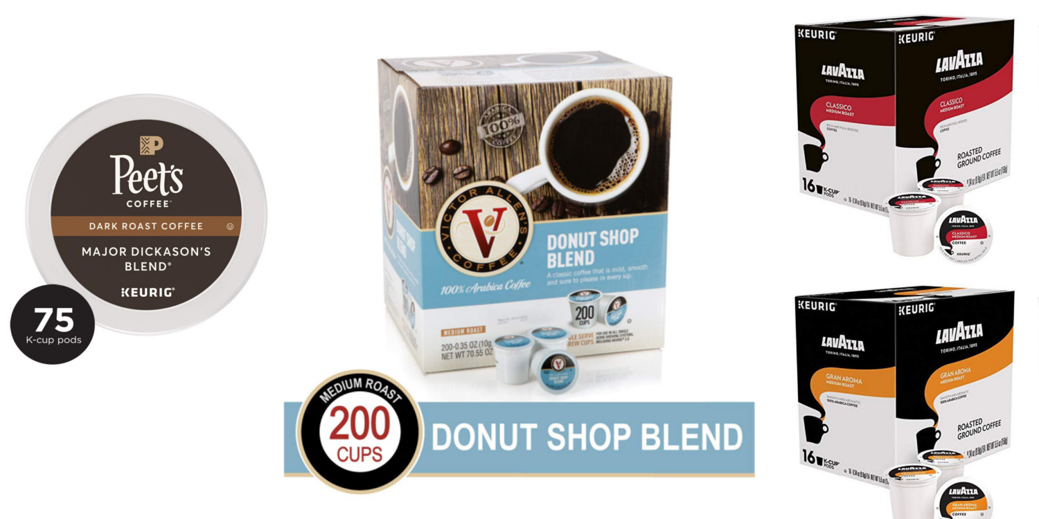 K-Cup packs from $19 Prime shipped: Peet's Coffee, Victor Allen's, more