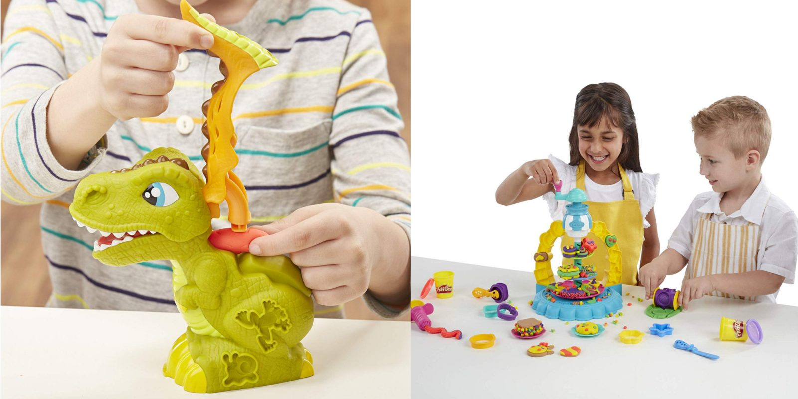 Check out these Play-Doh deals from $4.50: Rex, Fun Factory, and more
