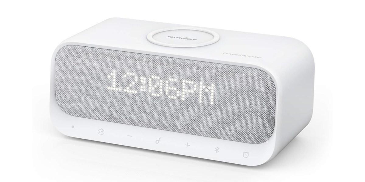 Qi Charger Alarm Clock