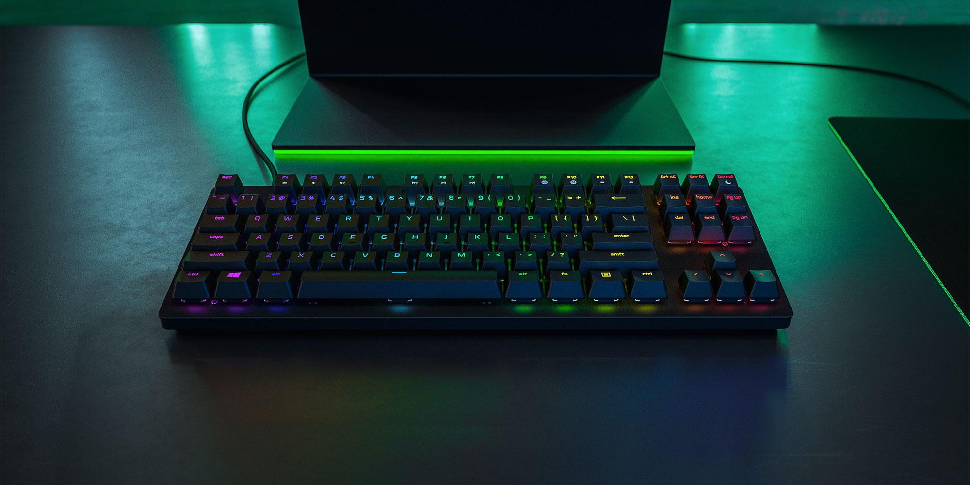 Razer's Huntsman Tournament Edition packs optical switches