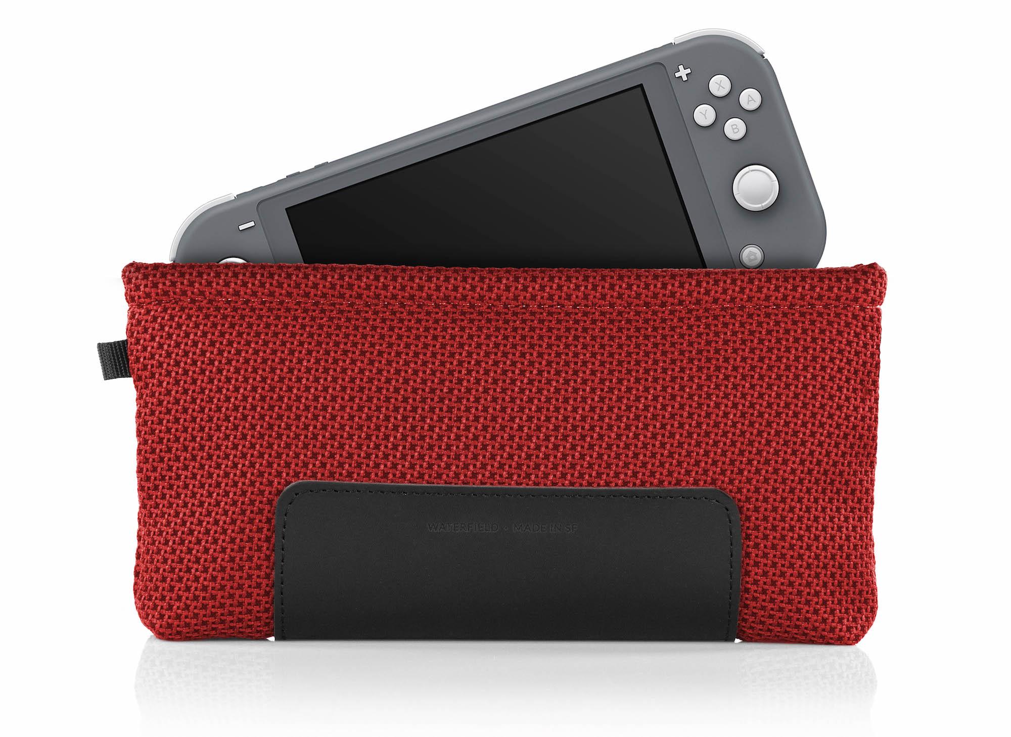 Nintendo Switch Lite Slip Case - Red/Grey