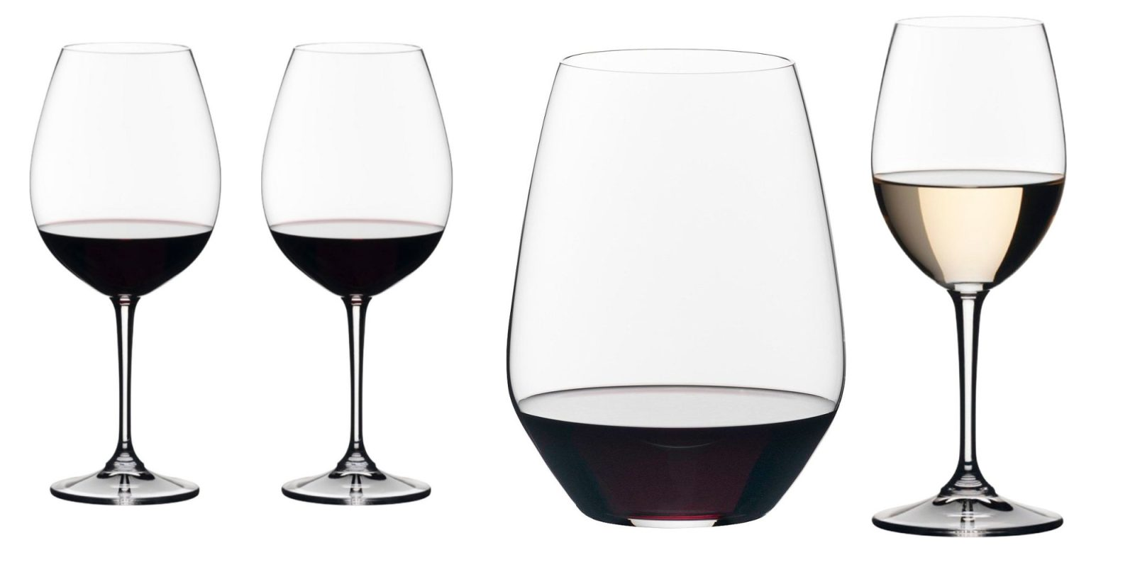 Upgrade your drinkware and wine glasses today, 4-packs now $10 (up to 75% off)