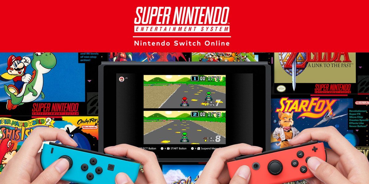 SNES Switch games - no longer added every month