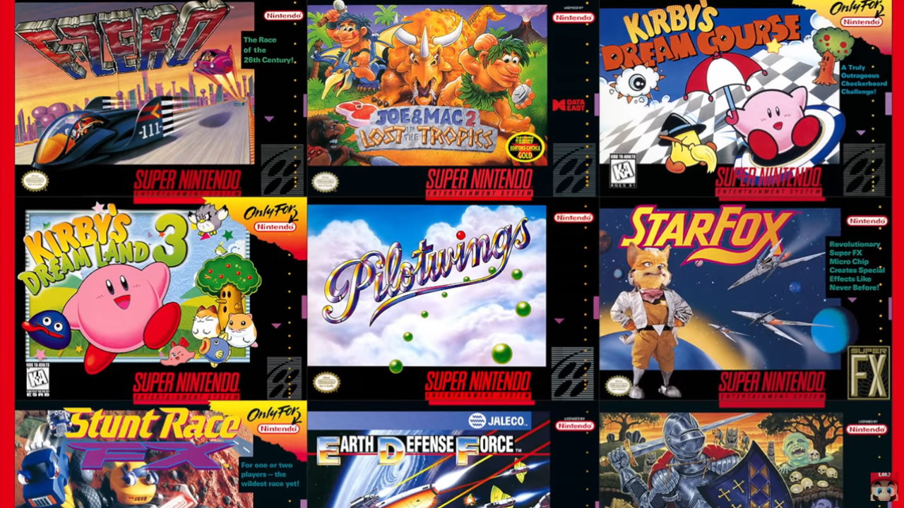 SNES Switch games - not coming once a month
