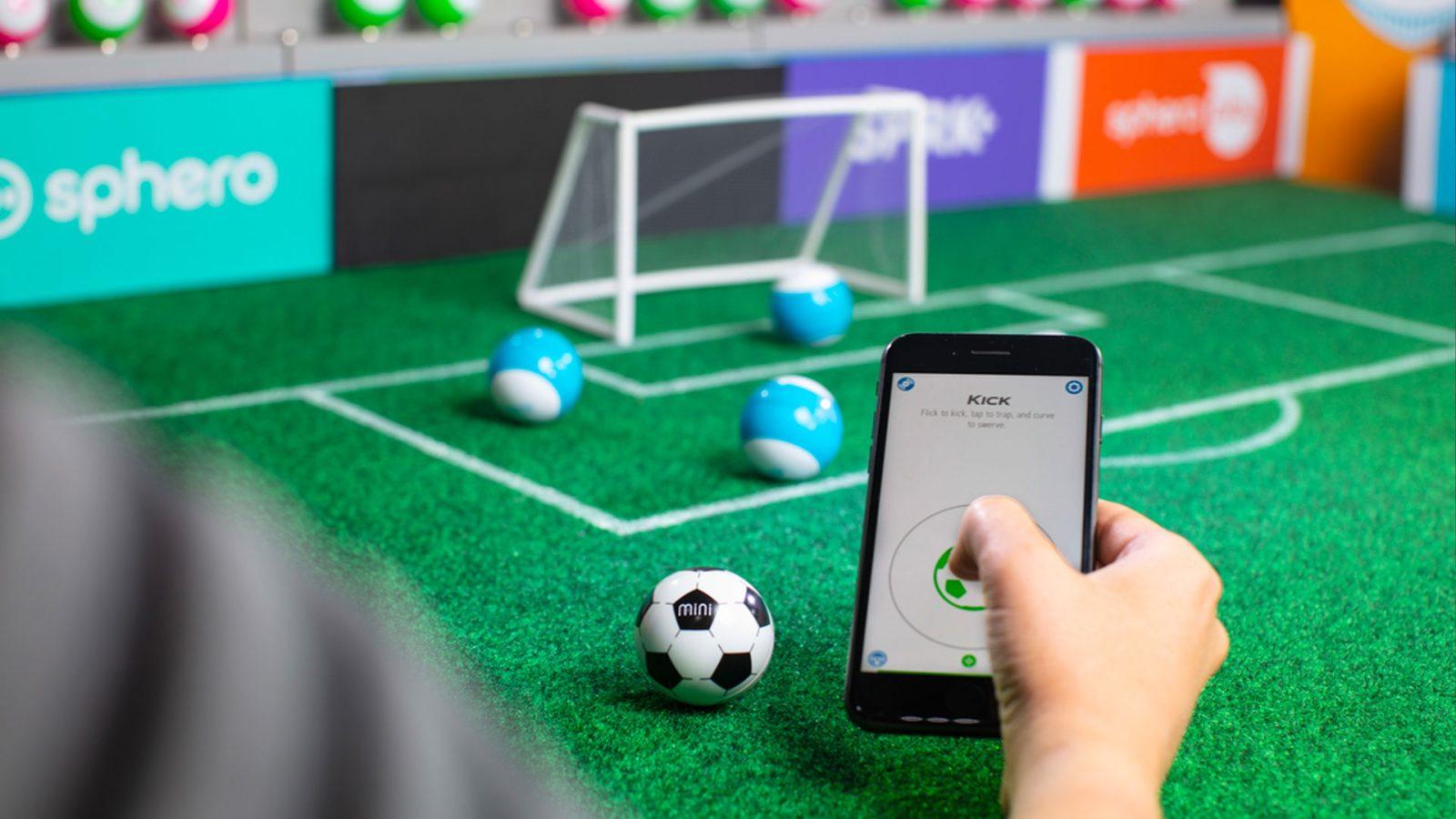 Sphero's Mini Activity + Mini Soccer kits bring learning to the living room