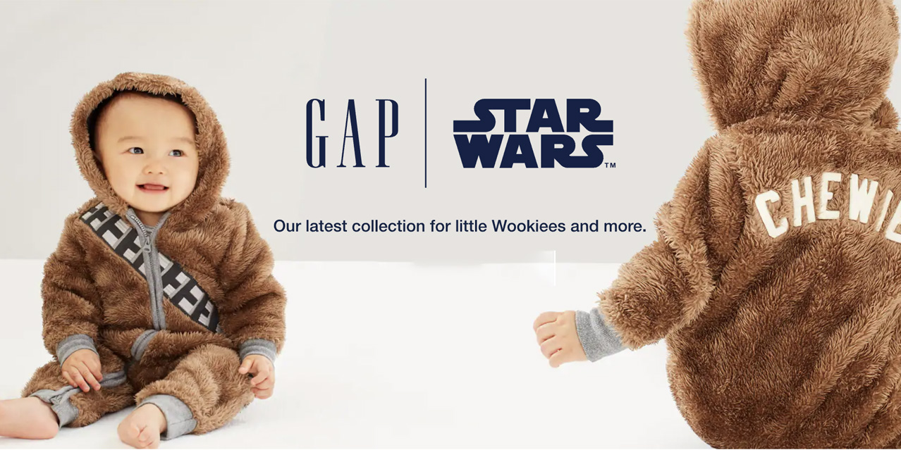 GAP Kids Star Wars Collection is live with prices from just $19