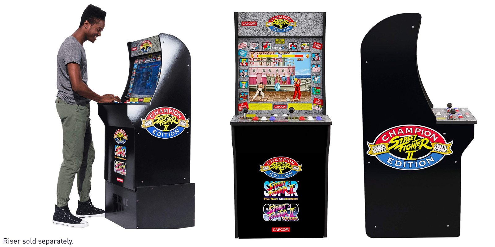 Arcade1Up Street Fighter Classic 3-in-1 Home Arcade: $188 shipped, today only