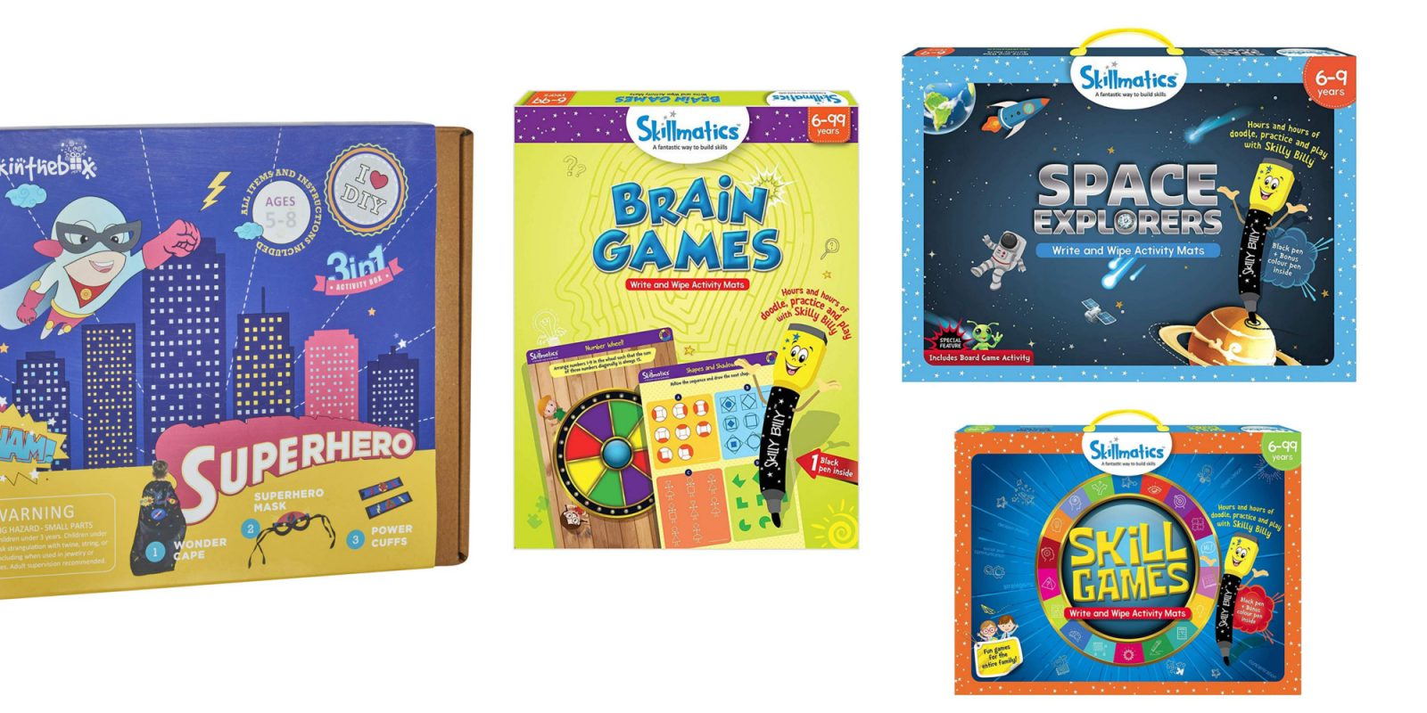 Keep the kids sharp with these brain games & craft kits from $8.50 on Amazon