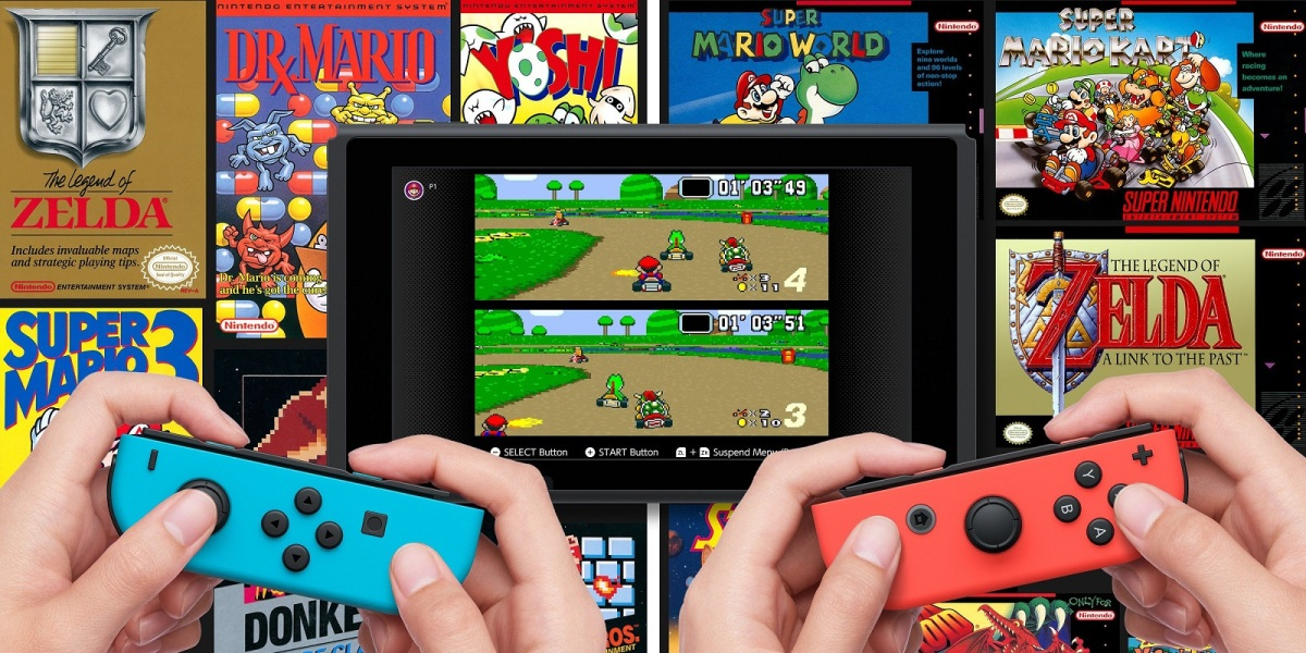 Switch Online SNES games now live!